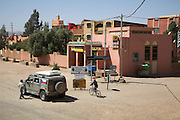 Four wheel drive jeep vehicle Alnif, Morocco, north Africa