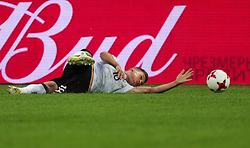 July 2, 2017 - Saint Petersburg, Russia - Joshua Kimmich of the Germany national football team reacts during the 2017 FIFA Confederations Cup final match between Chile and Germany at Saint Petersburg Stadium on July 02, 2017 in St. Petersburg, Russia. (Credit Image: © Igor Russak/NurPhoto via ZUMA Press)