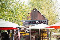 Camp 4 Coffee shop in Crested Butte, Colorado.