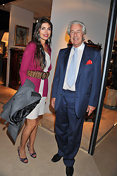 JUDE HESS and MARTIN SUMMERS at a preview evening of the annual London LAPADA (The Association of Art & Antiques Dealers) antiques Fair held in Berkeley Square, London on 20th September 2011.