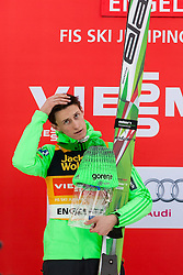 19.12.2015, Gross Titlis Schanze, Engelberg, SUI, FIS Weltcup Ski Sprung, Engelberg, im Bild Peter Prevc (Slowenien, 1. Platz) // during mens FIS Ski Jumping World Cup at the Gross Titlis Schanze in Engelberg, Switzerland on 2015/12/19. EXPA Pictures © 2015, PhotoCredit: EXPA/ Eibner-Pressefoto/ Socher<br /> <br /> *****ATTENTION - OUT of GER*****