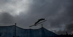 01.01.2016, Olympiaschanze, Garmisch Partenkirchen, GER, FIS Weltcup Ski Sprung, Vierschanzentournee, Probedurchgang, im Bild Daiki Ito (JPN) // Daiki Ito of Japan during his Trial Jump for the Four Hills Tournament of FIS Ski Jumping World Cup at the Olympiaschanze, Garmisch Partenkirchen, Germany on 2016/01/01. EXPA Pictures © 2016, PhotoCredit: EXPA/ JFK