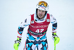 29.12.2016, Deborah Compagnoni Rennstrecke, Santa Caterina, ITA, FIS Ski Weltcup, Santa Caterina, alpine Kombination, Herren, Slalom, im Bild Christian Walder (AUT) // Christian Walder of Austriareacts after his run of Slalom competition for the men's Alpine combination of FIS Ski Alpine World Cup at the Deborah Compagnoni race course in Santa Caterina, Italy on 2016/12/29. EXPA Pictures © 2016, PhotoCredit: EXPA/ Johann Groder