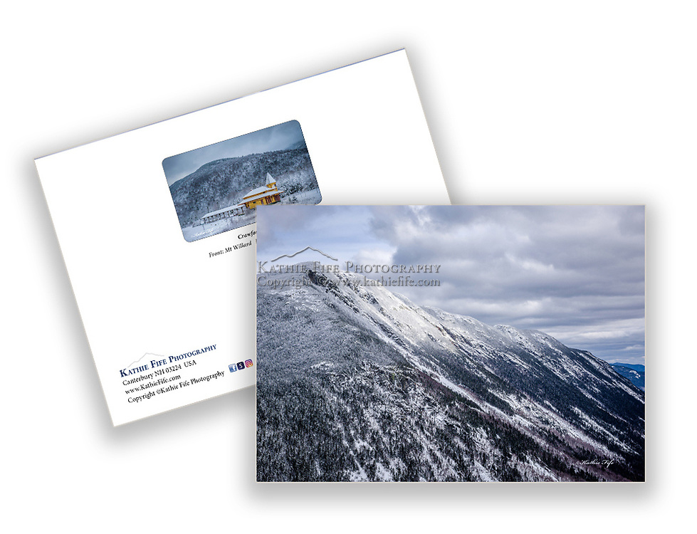 Winter on Mt Willard, Crawford Notch, NH