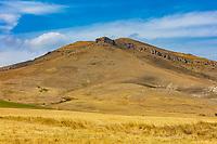 panorama landscape mountain near  Stepanavan  Lorri Armenia landmark
