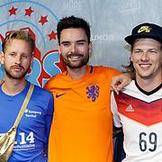 NLD/Rotterdam/20181014 - Iinloop premiere All Stars, radio dj's Q Music, ... Daan Boom, Domine Verschuuren, ......