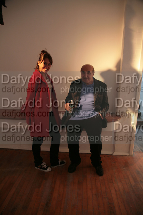 Ruanne Dellal and JACK DELLAL,  Twenty Hoxton Square. Opening exhibition of new gallery at Twenty Hoxton Square. -DO NOT ARCHIVE-© Copyright Photograph by Dafydd Jones. 248 Clapham Rd. London SW9 0PZ. Tel 0207 820 0771. www.dafjones.com.