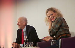 Jeremy Corbyn was in conversation with Maxine Peake today at the TV Festval in Edinburgh