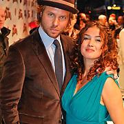 NLD/Amsterdam/20101114 - Premiere kinderfilm Dik Trom, Thijs Romer en partner Katja Schuurman