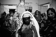 Word to mouth reaches people in the village and causes chaos in the corridor with new patients arriving non stop hoping to also see the visiting doctors from Karachi and having free surgery that they couldn't otherwise afford. Thari Mirwah, Pakistan, 2010