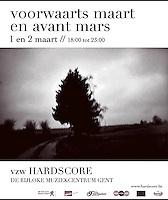 advert.: voorwaarts maart / en avant mars <br /> <br /> assignment: hardscore vzw - 2012<br /> published at: weekUP<br /> photo: © kurt van der elst<br /> grafics: kurt van der elst