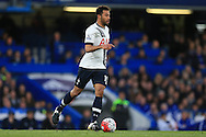 Mousa Dembele of Tottenham Hotspur in action.Barclays Premier league match, Chelsea v Tottenham Hotspur at Stamford Bridge in London on Monday 2nd May 2016.<br /> pic by Andrew Orchard, Andrew Orchard sports photography.