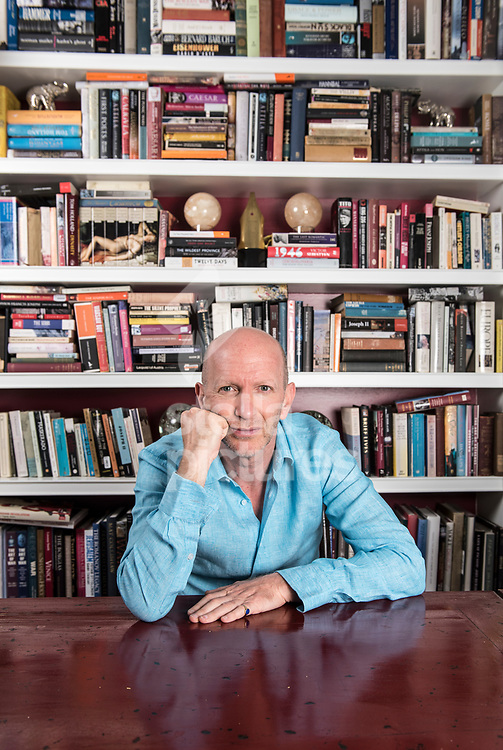 Historian, television presenter and award-winning author, Simon Sebag Montefiore, pictured at his west London Home.<br /> Picture by Daniel Hambury/Stella Pictures Ltd 07813022858<br /> 05/06/2017