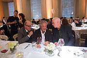 NICHOLAS LOGSDAIL; ANISH KAPOOR; RICHARD LONG, Lisson Gallery dinner, Banqueting House. London. 15 October 2013