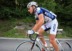 Francesco Reda of Italia (NGC Medical - OTC Indutria Porte)  during 1st stage of the 15th Tour de Slovenie from Ljubljana to Postojna (161 km) , on June 11,2008, Slovenia. (Photo by Vid Ponikvar / Sportal Images)/ Sportida)
