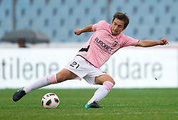 Armin Bacinovic of Palermo during football match between Udinese Calcio and Palermo in 8th Round of Italian Seria A league, on October 24, 2010 at Stadium Friuli, Udine, Italy.  Udinese defeated Palermo 2 - 1. (Photo By Vid Ponikvar / Sportida.com)