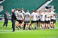 Bernard LAPORTE - 01.05.2015 - Captains' Run de Toulon avant la finale - European Rugby Champions Cup -Twickenham -Londres<br /> Photo : David Winter / Icon Sport