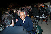 ANISH KAPOOR, Zuecca Project Space and Lisson Gallery host dinner in honour of Ai Weiwe, Bauer Hotel, St. Marco,  Venice Bienalle. 28 May 2013