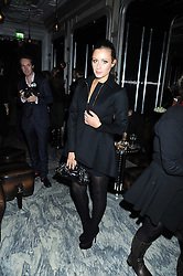CAMILLA AL FAYED at a party for Yves Saint Laurent's Creative Director Stefano Pilati given by Colin McDowell held at The Connaught Bar, The Connaught, Mount Street, London on 29th October 2008.