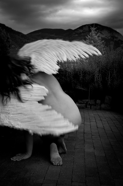 Angel Wings, Taos Mountains, Arroyo Seco, New Mexico