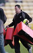 2004/05 Powergen Cup, Saracens vs Newcastle Falcons, 19.12.2004, Watford, ENGLAND: Coach, Steve DIAMOND<br /> <br /> Watford, Hertfordshire, England, UK., 19th December 2004, [Mandatory Credit: Peter Spurrier],