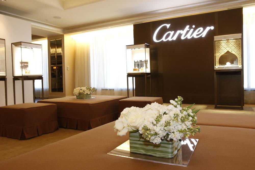 Cartier showroom .