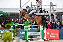 BEERBAUM Ludger (GER), Cool Feeling<br /> Hagen - Horses and Dreams 2019<br /> Preis der LVM Versicherung - CSI4* Quali. BEMER-RIDERS TOUR-Wertung - Stechen<br /> 27. April 2019<br /> © www.sportfotos-lafrentz.de/Stefan Lafrentz