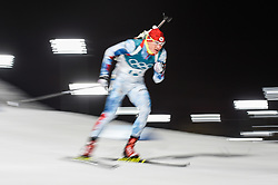 February 11, 2018 - Pyeongchang, Gangwon, South Korea - Ondrej Moravec of Czech Republic at Mens 10 kilometre sprint Biathlon at olympics at Alpensia biathlon stadium, Pyeongchang, South Korea on February 11, 2018. (Credit Image: © Ulrik Pedersen/NurPhoto via ZUMA Press)