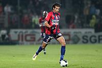 FOOTBALL - FRENCH CHAMPIONSHIP 2011/2012 - CLERMONT FA v STADE DE REIMS - 28/11/2011 - PHOTO EDDY LEMAISTRE / DPPI - MEDHI NAMLI (CLE)