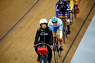 Men Keirin, Sergii Omelchenko (Azerbaijan) , during the Track Cycling European Championships Glasgow 2018, at Sir Chris Hoy Velodrome, in Glasgow, Great Britain, Day 6, on August 7, 2018 - Photo luca Bettini / BettiniPhoto / ProSportsImages / DPPI<br /> - Restriction / Netherlands out, Belgium out, Spain out, Italy out -