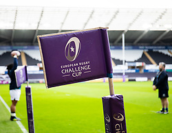 A general view of Liberty Stadium, home of Ospreys Challenge cup branding<br /> <br /> Photographer Simon King/Replay Images<br /> <br /> European Rugby Challenge Cup Round 5 - Ospreys v Worcester Warriors - Saturday 12th January 2019 - Liberty Stadium - Swansea<br /> <br /> World Copyright © Replay Images . All rights reserved. info@replayimages.co.uk - http://replayimages.co.uk