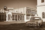 Streets of the sleepy town of Cienfuego