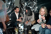 MARC JACOBS; ANNA SUI; ANITA PALLENBERG, Mark Jacobs' Bang' fragrance preview. Harvey Nicholls. London. 22 July 2010. -DO NOT ARCHIVE-© Copyright Photograph by Dafydd Jones. 248 Clapham Rd. London SW9 0PZ. Tel 0207 820 0771. www.dafjones.com.