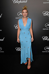 Florence Pugh attending the Chopard Trophy at Agora during 72nd Cannes Film Festival in Cannes, France on May 20, 2019. Photo by Julien Reynaud/APS-Medias/ABACAPRESS.COM