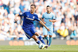 Nemanja Matic of Chelsea in action - Photo mandatory by-line: Rogan Thomson/JMP - 07966 386802 - 21/08/2014 - SPORT - FOOTBALL - Manchester, England - Etihad Stadium - Manchester City v Chelsea FC - Barclays Premier League.