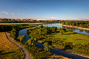 Lewis & Clark's Decision Point along Montana's Missouri River.