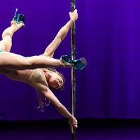 Pole Theatre Hungary competition held in Budapest, Hungary on June 16, 2019. ATTILA VOLGYI
