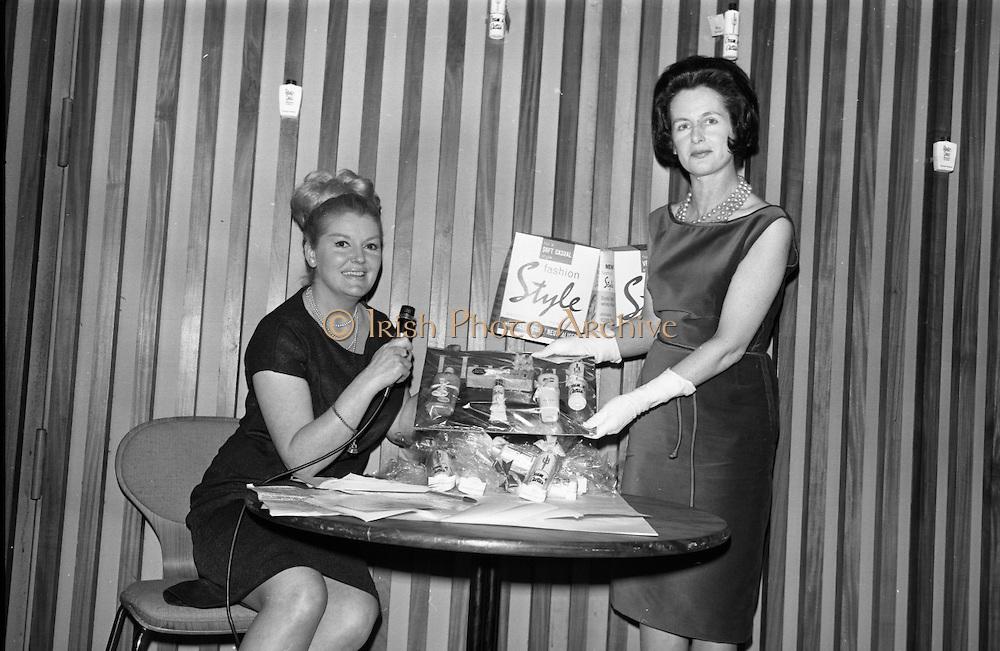 Richard Hudnet presentation at Muckross Fashion Show. Intercontinental Hotel, Dublin..12.02.1964