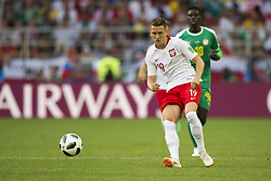 June 19, 2018 - Moscow - Piotr Zielinski of Poland during the 2018 FIFA World Cup Group H match between Poland and Senegal at Spartak Stadium in Moscow, Russia on June 19, 2018  (Credit Image: © Andrew Surma/NurPhoto via ZUMA Press)