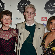 John McCrea Arriver at the 18th Annual WhatsOnStage Awards 2018 at Prince of Wales Theatre on 25 Feb 2018, London, UK