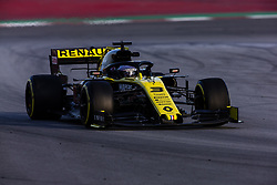 February 26, 2019 - Barcelona, Catalonia, Spain - Daniel Ricciardo from Australia with 03 Renault F1 Team RS19 in action during the Formula 1 2019 Pre-Season Tests at Circuit de Barcelona - Catalunya in Montmelo, Spain on February 26. (Credit Image: © Xavier Bonilla/NurPhoto via ZUMA Press)