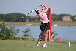 May 6, 2018 - The Colony, TX, U.S. - THE COLONY, TX - MAY 06: Paula Creamer (USA) hits from the 6th tee during the Volunteers of America LPGA Texas Classic on May 6, 2018 at the Old American Golf Club in The Colony, TX. (Photo by George Walker/Icon Sportswire) (Credit Image: © George Walker/Icon SMI via ZUMA Press)