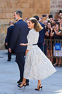 091818 Spanish Royals visit University of Salamanca