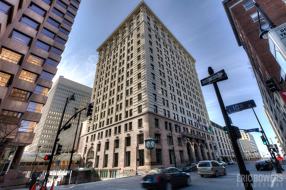 Commerce Trust Building at 10th and Walnut, downtown Kansas City, MO.