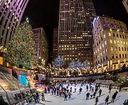 Christmas at Rockefeller Center, NYC