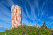 Water tower and clouds<br />
