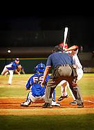 Umpire at AR Travelers game