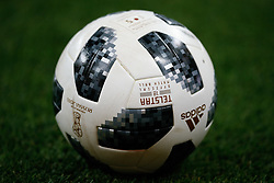 June 17, 2018 - Rostov Do Don, Rússia - ROSTOV DO DON, RO - 17.06.2018: BRAZIL VS SWITZERLAND - Adidas Telstar ball, the official ball of the cup during match between Brazil and Switzerland valid for the first round of group E of the 2018 World Cup held at the Rostov Arena in Rostov on Don, Russia. (Credit Image: © Marcelo Machado De Melo/Fotoarena via ZUMA Press)