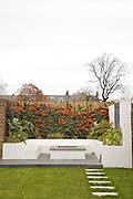 The back garden at 31 Groombridge Road, Hackney, London CREDIT: Vanessa Berberian for The Wall Street Journal<br /> HACKNEY-Lana Wrightman