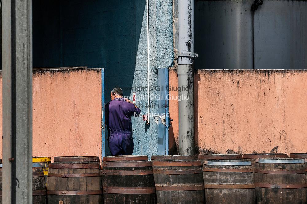 Cuba, province de Mayabeque, ville de San José de las Lajas, photo inédite de l'intérieur de la distillerie nationale du rhum Havana Club // Cuba, province of Mayabeque, San Jose de las Lajas, exclusive photo inside national distillery of Havana Club Rum